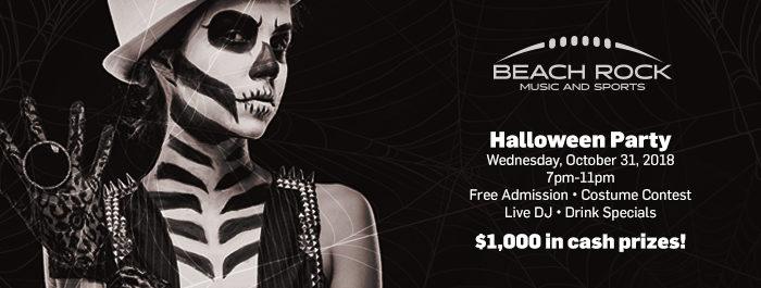 Beach Rock Music & Sports Halloween Costume Contest & Party
