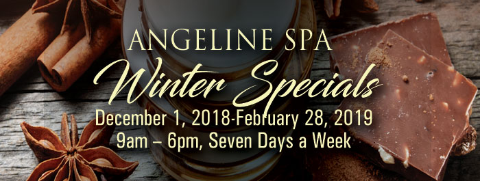 Angeline Spa Winter Specials
