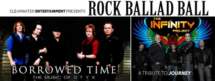 ROCK BALLAD BALL! Classic Rock Tribute & Valentine Dinner