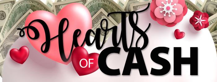 Hearts of Cash Clearwater Casino Resort