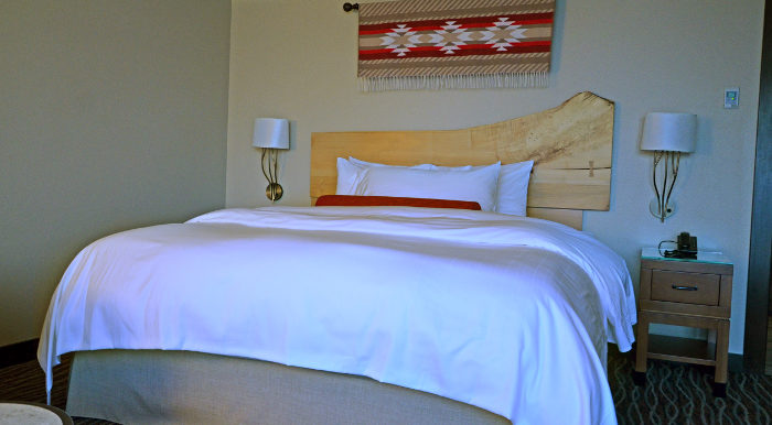 Clearwater Casino Resort King Bed