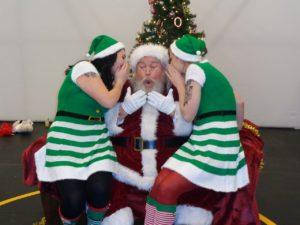 Bad Santa Cris Larsen