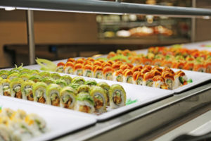 ALL YOU CAN EAT, SUSHI & SEAFOOD ASIAN NIGHT SUNDAY BUFFET