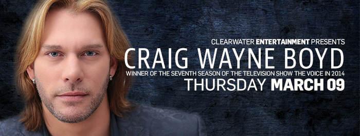 Craig Wayne Boyd at Clearwater Casino Resort
