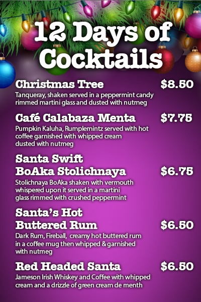 12 Days Of Cocktails