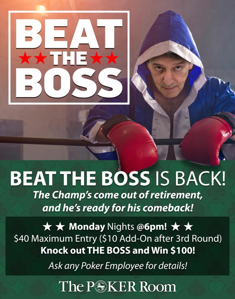 Beat The Boss Clearwater Casino & Resort