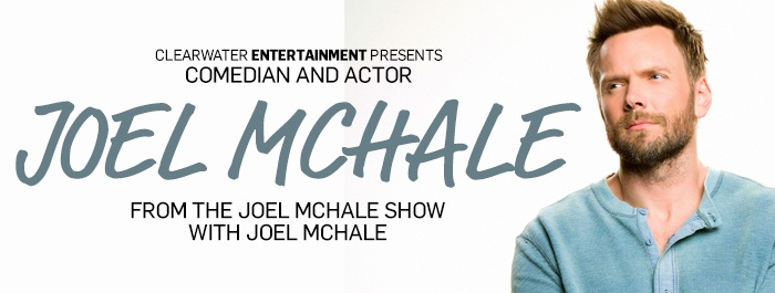 Joel McHale at Clearwater Casino Resort