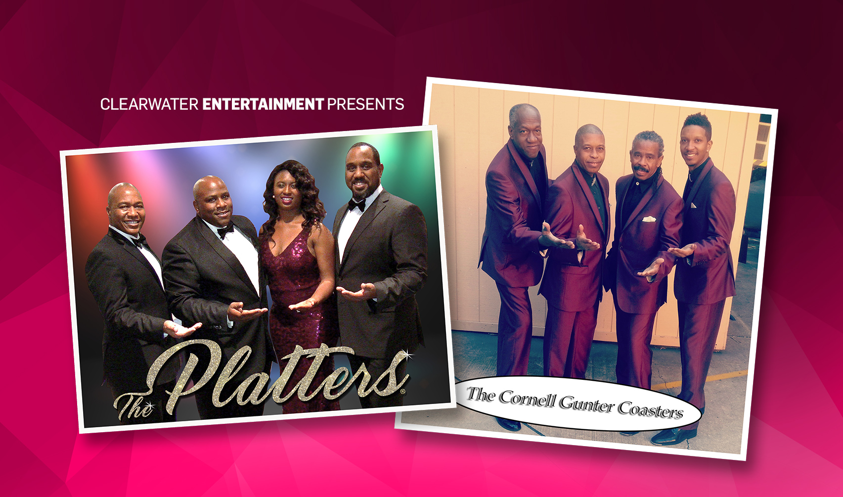 The Platters & The Coasters October 24th