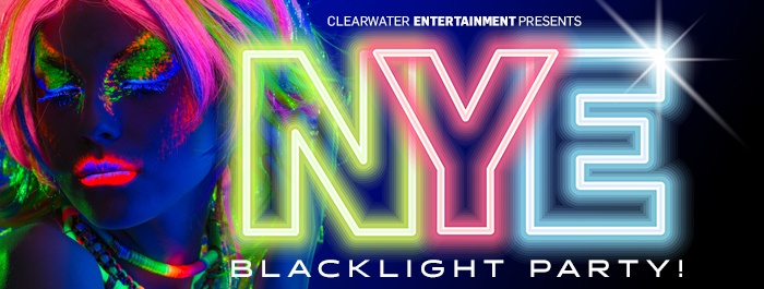 New Year's Eve Black Light Party Hosted by Craig Gass