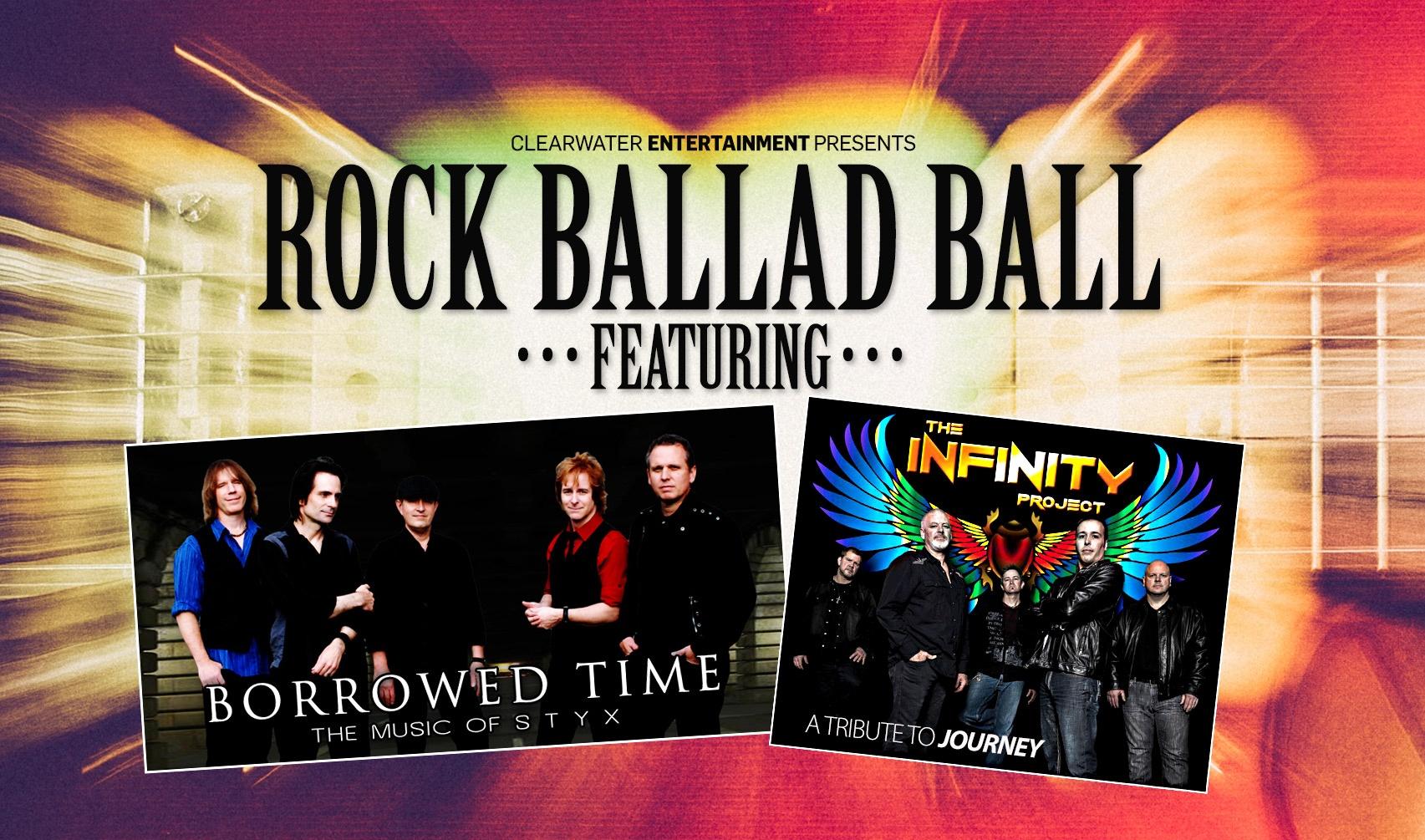 Rock Ballad Ball Feb 14th Clearwater Casino Event Center