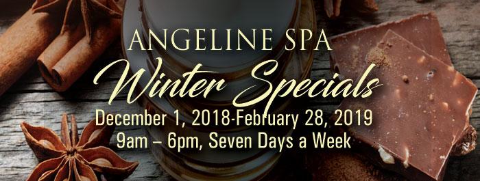 Angeline Spa Winter Specials