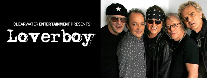 Loverboy Clearwater Casino Event Center