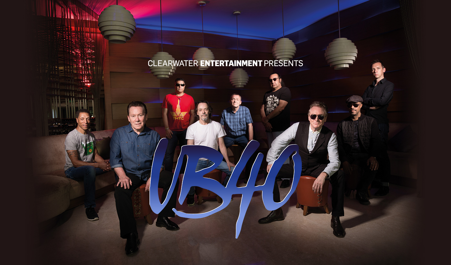 UB40 Clearwater Casino Resort