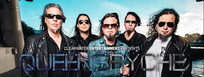 Queensryche 2019 Clearwater Casino Resort Event Center