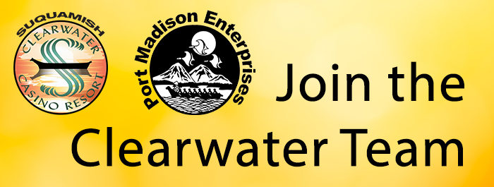 Clearwater Casino Employment Banner