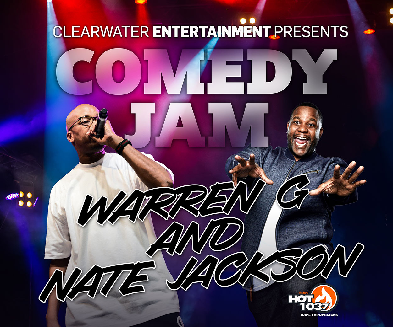 Comedy Jam ft. Warren G & Nate Jackson