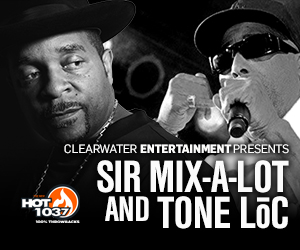 Sir Mix A Lot and Tone Loc Clearwater Casino Resort