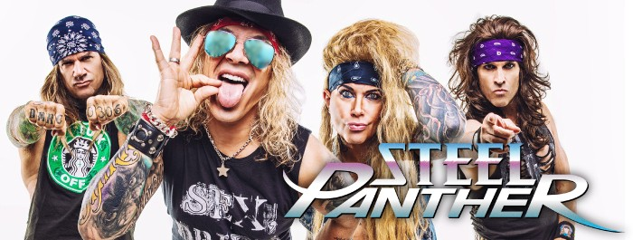 Steel Panther - HEAVY METAL RULES - Clearwater Casino Resort