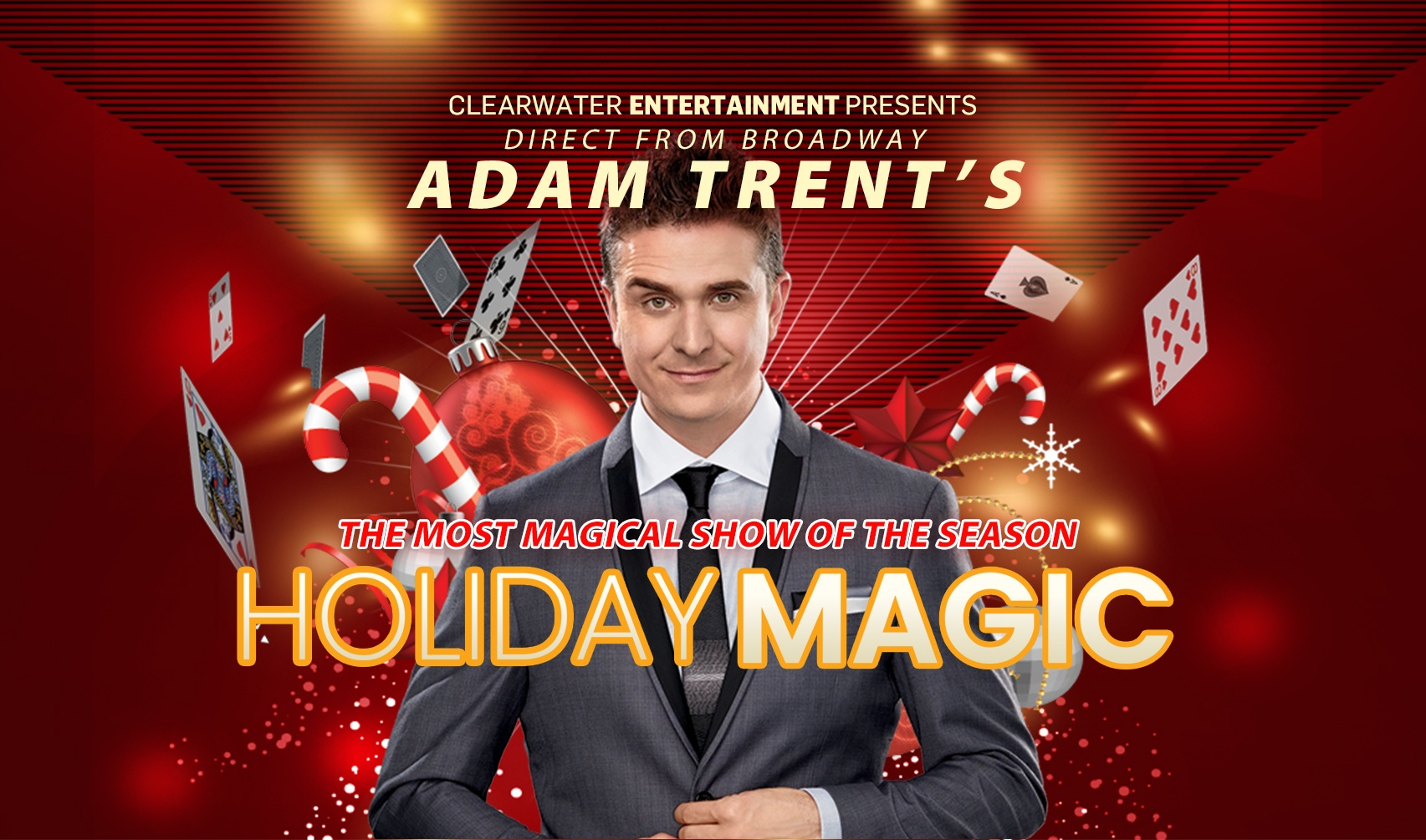 Adam Trent's Holiday Magic!