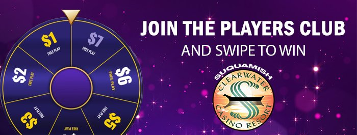 Welcome to the Club at Clearwater Casino Resort