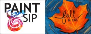 Paint And Sip November 2019
