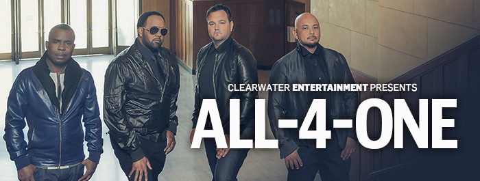 Clearwater Entertainment Presents: All-4-One! Event Center