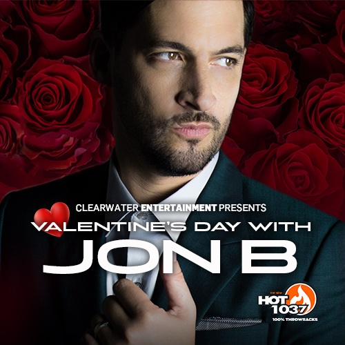 Valentine's Day with Jon B