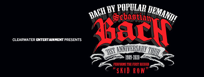 Sebasian Bach of Skid Row at Clearwater Casino