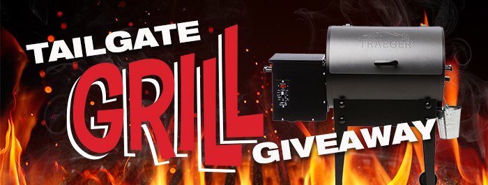Tailgating Grill Giveaway!