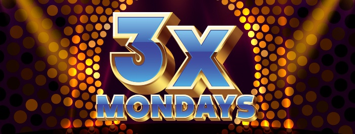 3x Points Mondays
