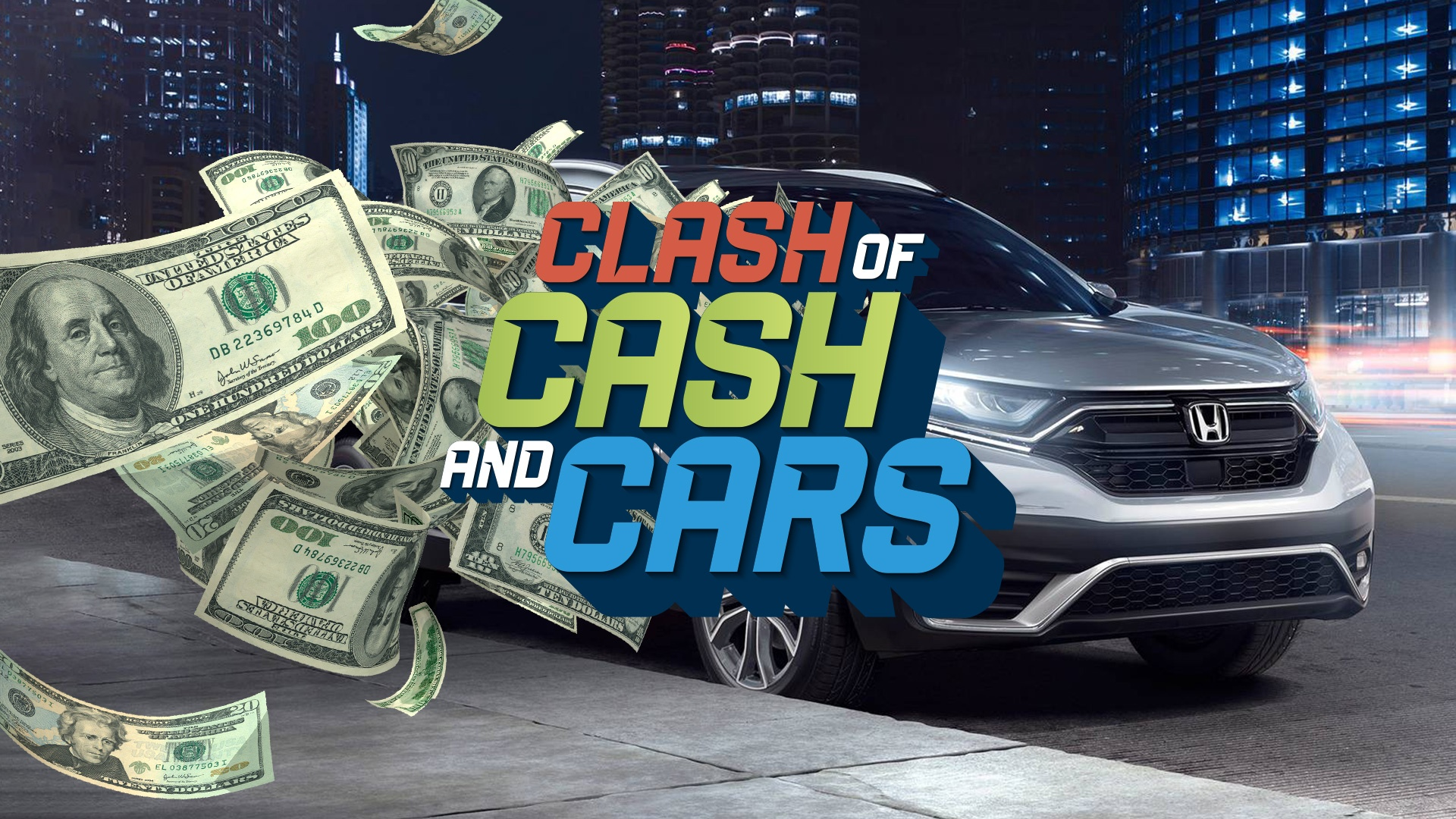 Win Your Share Of $43,000 CASH Or CAR