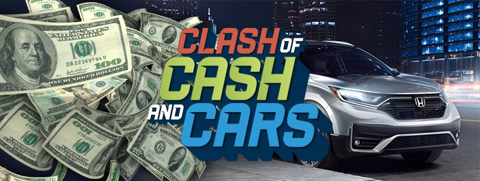 Clearwater Casino Clash of CASH and CARS