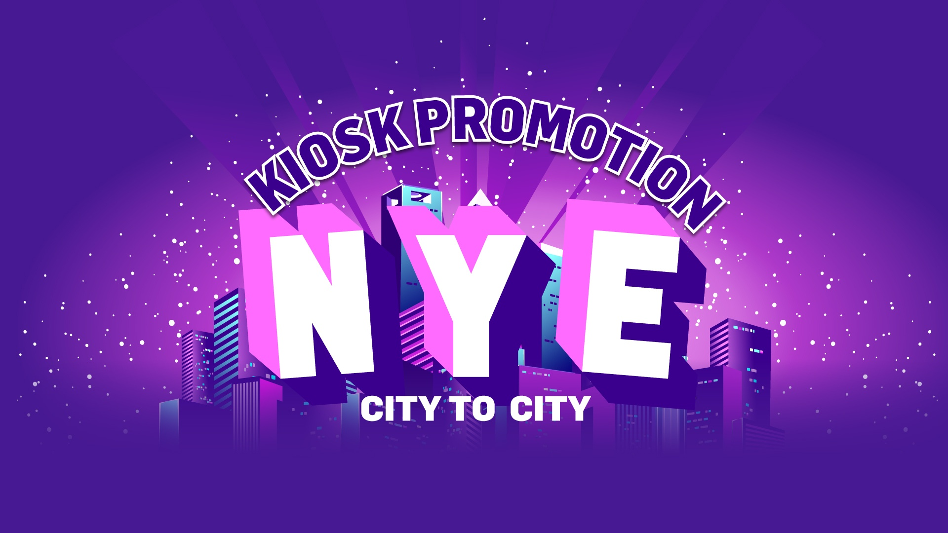 NYE: CITY TO CITY Win Your Share Of $10,000 CASH!