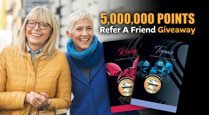 5,000,000 Points Refer A Friend Giveaway