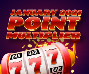 January 2021 Point Multiplier Rules