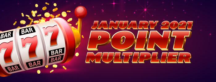Point Multiplier Clearwater Casino Resort