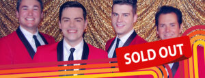 NEW JERSEY JUKEBOX – JERSEY BOYS TRIBUTE - SOLD OUT