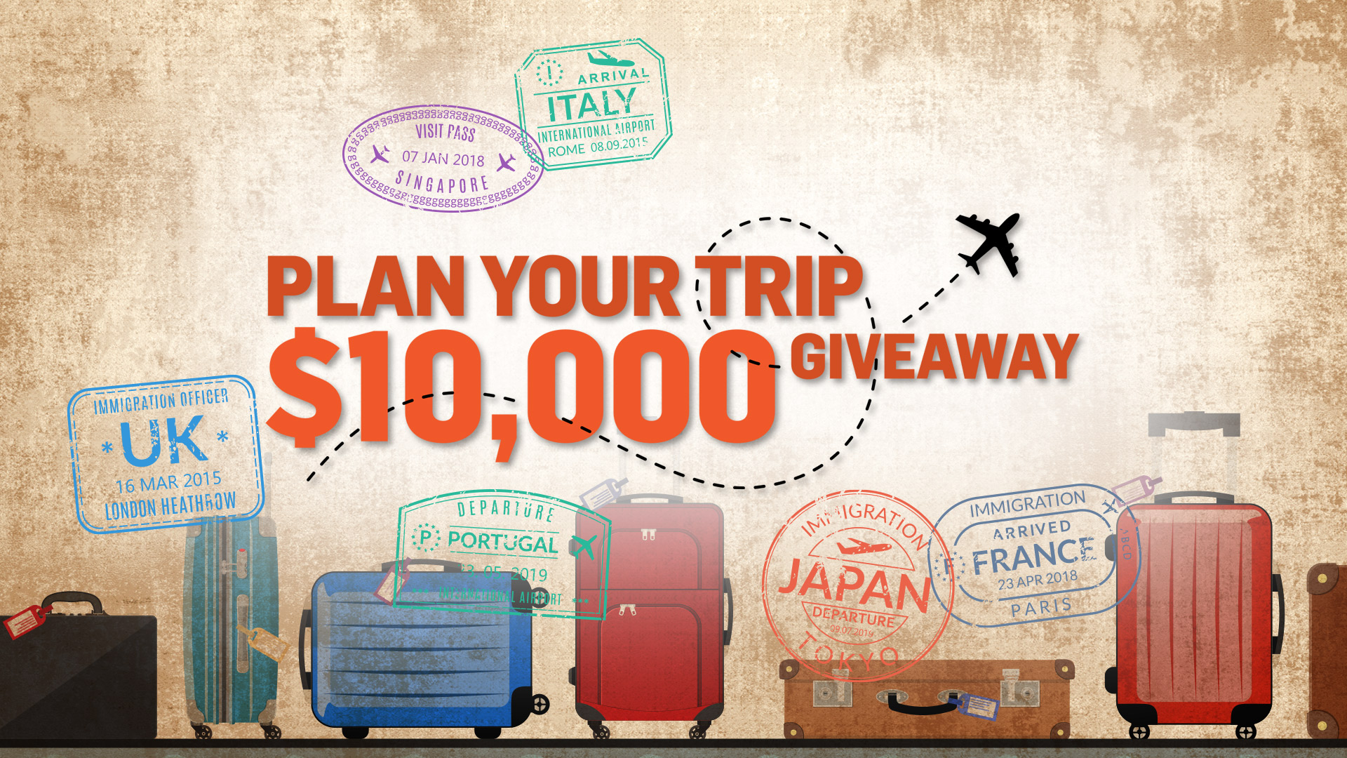 PLAN YOUR TRIP $10,000 GIVEAWAY