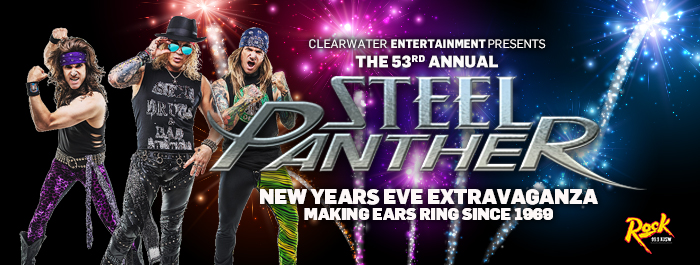 Steel Panther at Clearwater Casino Resort